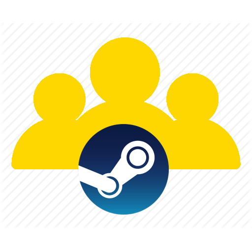 Steam players icon